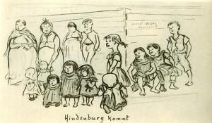 Zille, Hindenburg kommt um 1925