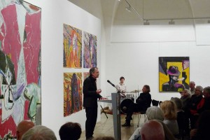 Ausstellungseröffnung31_5_2015 Armin Hauer