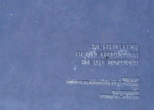 Text Bronzeplatte Ingeborg Hunzinger