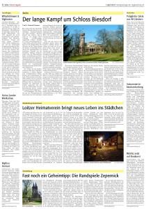 Der lange Kampf um Schoss Biesdorf