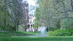 Schloss im Frühling