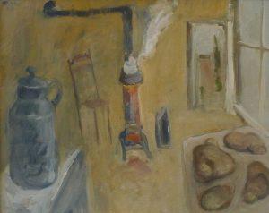 Harald Metzkes, Der glühende Ofen. 1967