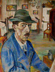 Otto Nagel, Selbstbildnis